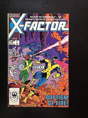 X Factor  1 1986 Marvel Comics Original X Men