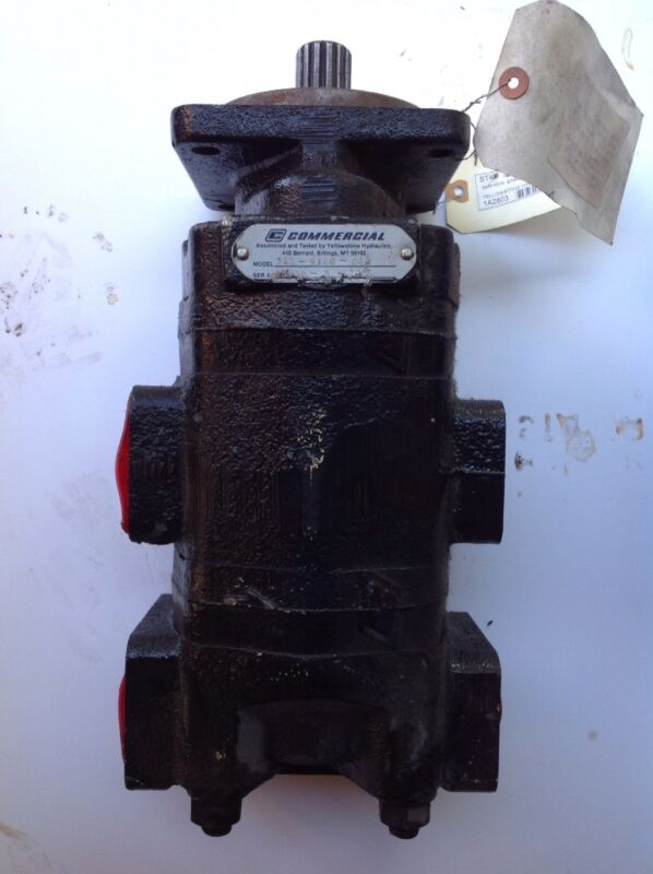 Parker 323 9120 032 Hydraulic Gear Pump. Pump is rebuild; make a offer
