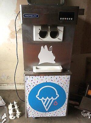 Protelex Soft Ice-Cream Machine And Frozen Yoghurt