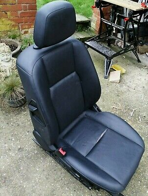 MERCEDES C CLASS 2008 - W204 FRONT LEFT PASSANGER SIDE LEATHER SEAT - no heating