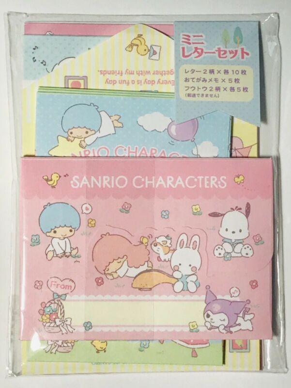 Sanrio - Sanrio Characthers (Hello Kitty, Kuromi...) mini letter set - NEW