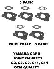 Yamaha Carburetor Gasket Set G2 G8 G9 G11 G14 Spacer Joint