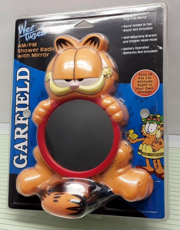 Garfield Wet Tunes AM/FM Shower Radio With Mirror