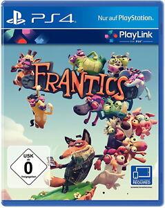 Sony PS4 Spiel Frantics  (verschweißt & versiegelt) Deutsch *NEU&OVP*