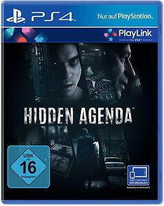 Hidden Agenda (Sony PlayStation 4, 2017) - Neu! - Neunkirchen, Deutschland - Hidden Agenda (Sony PlayStation 4, 2017) - Neu! - Neunkirchen, Deutschland