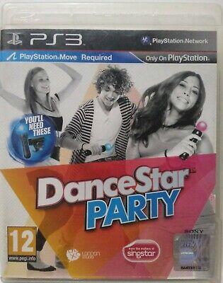 Usado, DanceStar Party. Ps3. Fisico.  segunda mano  Albacete
