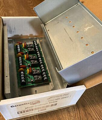 Gatorgateair Products Controlsspace Age Ssu-mr-203c Multi-voltage Relay Box