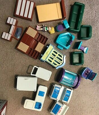 Dolls house furniture Vintage Arco And Others . Made In China , Hong Kong