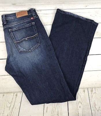 LUCKY BRAND Mid Rise STARK SWEET N LOW Bootcut Jeans Ol Rooftop Sz 31