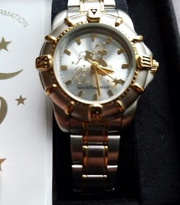 NEW DISNEY 25TH ANNIVERSARY MICKEY MOUSE FANTASIA SORCERER LIMITED EDITION WATCH