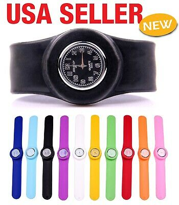 Diy Slap Bracelets (Unisex Bracelet Gift Any Size Diy Quartz Slap Wrist  Watch)
