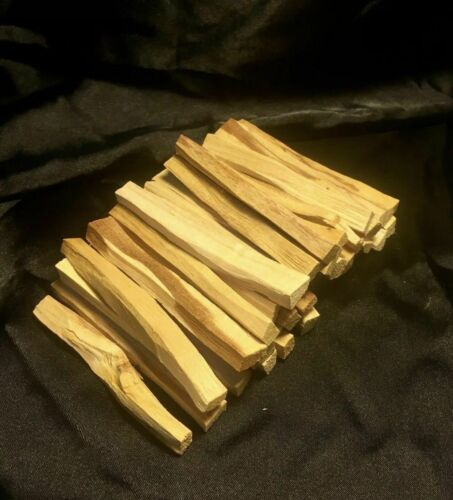 Palo Santo Incense 25 fresh sticks (4+inches long)
