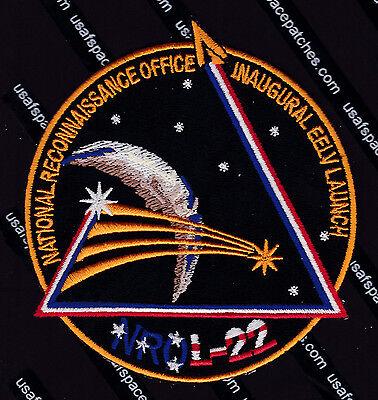 NROL- 22 DELTA IV M+ ULA VAFB USAF DOD NRO CLASSIFIED SATELLITE Mission PATCH