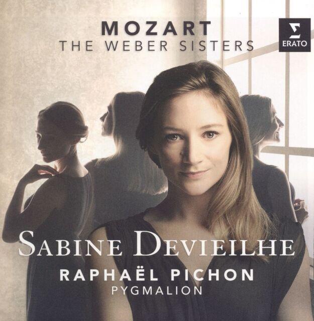 SABINE/PICHON,RAPHAEL/PYGMALION DEVIEILHE - DIE WEBER SCHWESTERN  CD NEU MOZART