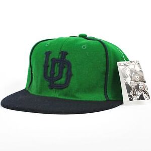 UNDEFEATED X EBBETS UD Pipe Ballcap Kelly Green Blue Adjustable Cap Hat  (H19) 40661066d77c