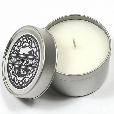 Baby Powder Handpoured Highly Scented Candle Tin