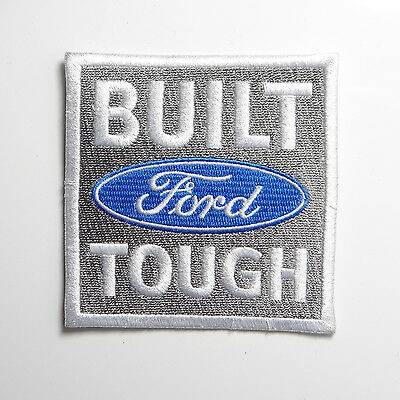 FORD BUILT TOUGH IRON ON PATCH