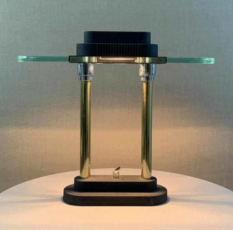Vintage Mid Century Modern Kovacs Sonneman Era Ufo Dimmer Lamp 1980s Taiwan