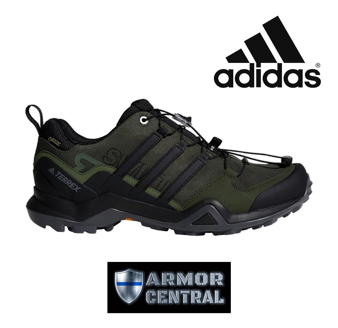 NEW Men's Green Adidas Terrex Swift R2 GTX Shoes - Waterproof - CM7497
