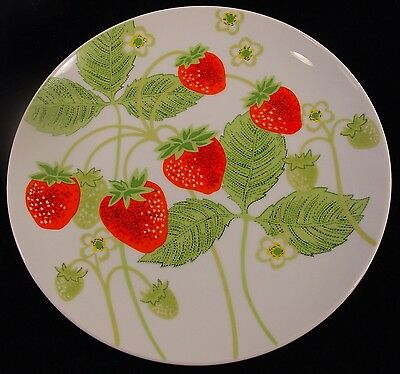 Dinner Plate in Wild Strawberry by Fitz & Floyd