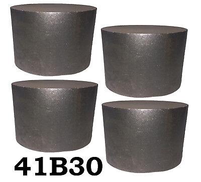 4 Round 4130 Steel Alloy Boron Rolled Bars Billets 4 3-4 Long 41b30 Hl