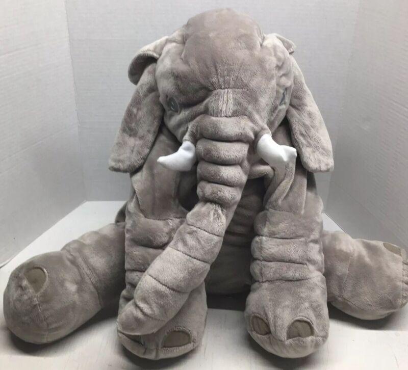 "MamaDada Elephant Pillow 27""X19""Baby Sleeping Cushion Stuffed Animal"