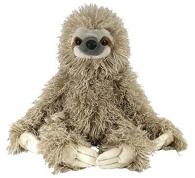 Wild Republic Cuddlekin Three Toed Sloth 12  Plush  New  Free Shipping