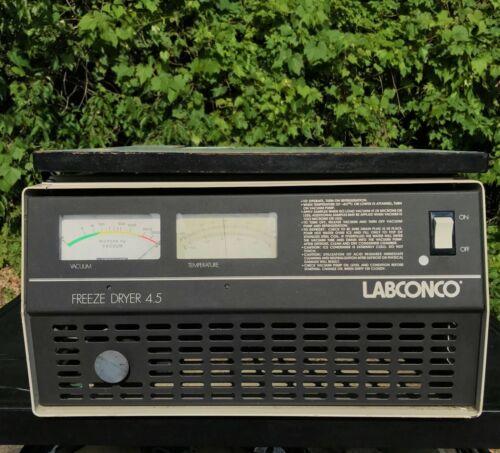 LABCONCO FREEZONE 4.5 FREEZE DRY SYSTEM DRYER 10404A 77500-00 Powers Up!