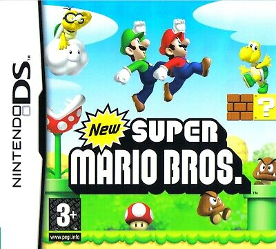 New Super Mario Bros Game for KIds NINTENDO DS PAL EUR Fast Post UK](Mario Games For Kids)
