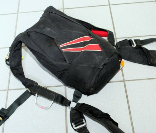 Talon2 skydiving container with MicroRaven150 reserve and RSL