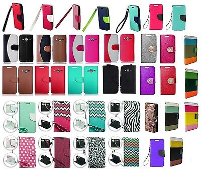 Wallet Pouch Case Phone Cover for Samsung Galaxy Avant SM-G386T SM-G386T1 Afyon ()