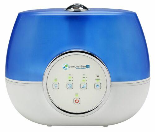 RH4810 120-Hour Ultrasonic Warm and Cool Mist Humidifier, Refurb PureGuardian