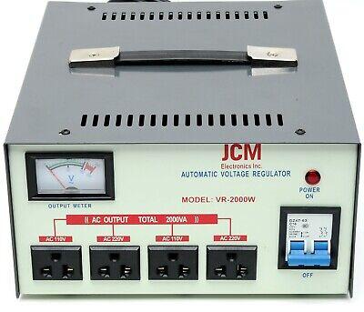 2000w 110v 220v Voltage Converter Transformer Step Up Down Regulator Stabilizer