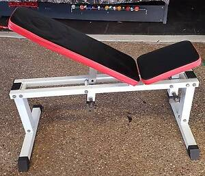 Weight Bench Adjustable Incline Brassall Ipswich City Preview