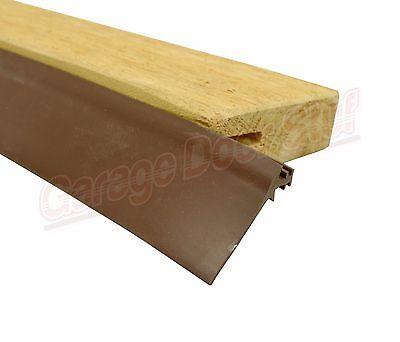 Custom Garage Door Trim Seal - Wood Door Stop Insert