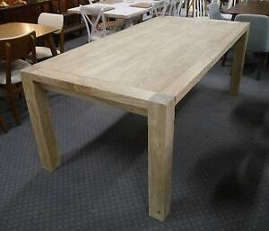 New Provincial Rustic Recycled Timber Elm Wooden Dining Tables Melbourne CBD Melbourne City Preview