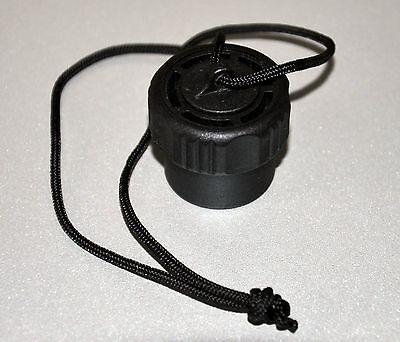 Atemregler Verschluss-Kappe schwarz - Schutz vor Nässe und Staub!!!*****