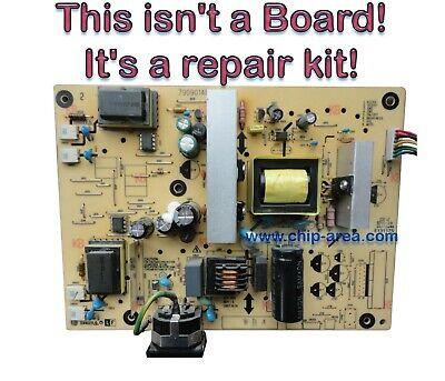 Repair Kit Capacitors For Acer AL2216W X223WQ VA2026W Power Supply ILPI Rev.C