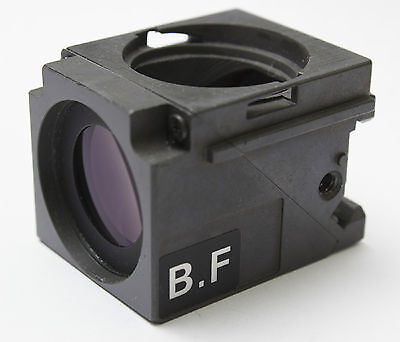 Nikon Microscope Epi Illuminator Bf Cube Eclipse Optiphot 100 150 200 Quadfluor