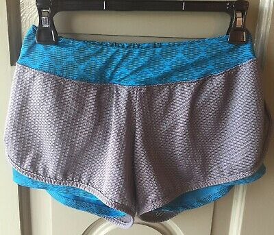 Augusta Womens Athletic Gym Shorts Ladies Size Small S Gray Blue Mesh Sportswear (Augusta Sportswear Mesh Shorts)