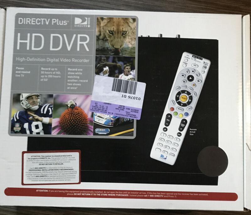 NEW IN BOX DIRECTV Plus HD DVR HR21-200 Black