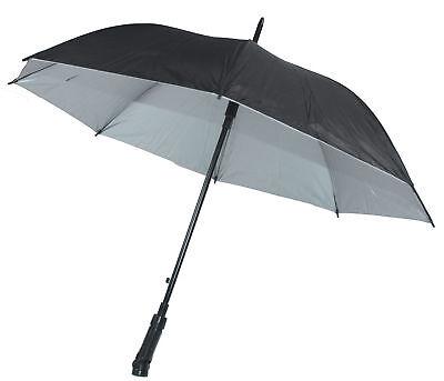 Regenschirm mit Beleuchtung Taschenlampe NEU 180 Grad schwenkbar LED Licht Ø60cm