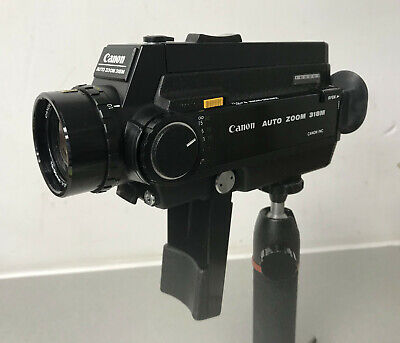 Canon Auto Zoom 318M 8mm Cine Film Movie Camera - Tested & Working