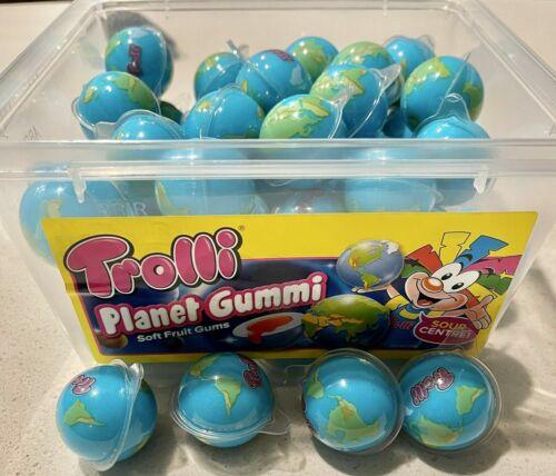 Trolli Planet Gummi with Sour Centers, 4 Pieces 🔥Tiktok Tik Tok ASMR🔥