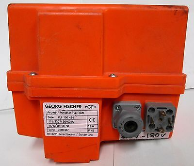 Georg Fischer 198.150.434 Type Ea20 Electrical Actuator Control 115-230v 5060hz