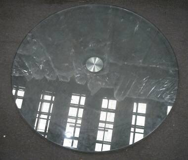 New Round Thick Glass Table Top