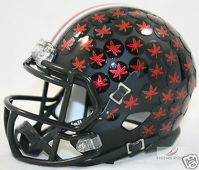 ohio state buckeyes matte black w red