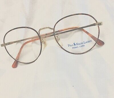 Vintage Polo eyeglasses OVAL  Classic VI  49- 19 140  NEW Ralph Lauren  tortoise