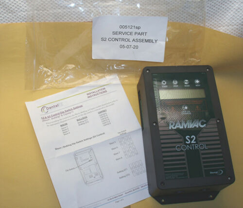 New Perfect Dental EZ RAMVAC S2 Controller for Vacuum Pump Systems *LOOK*