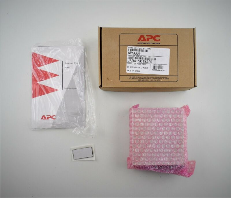 APC AP9600 Smart Slot SS Expansion Chassis 885-8504 - New Open Box